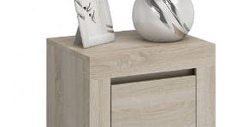Moderní noční stolek DEKO D2 dub sonoma