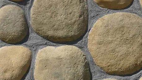 Obkladový kámen OBLÁZKY hnědé