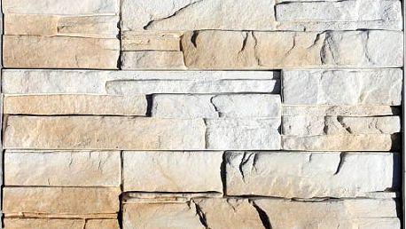 Obkladový kámen MONTANA bílá/hnědá