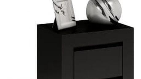 Moderní noční stolek DEKO D2 černá