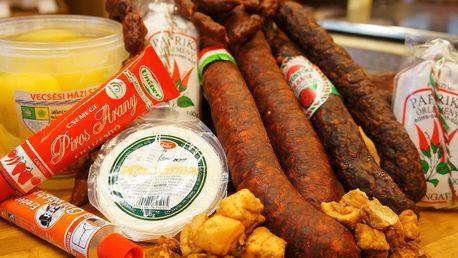 Maďarské delikatesy v 5 různých balíčcích