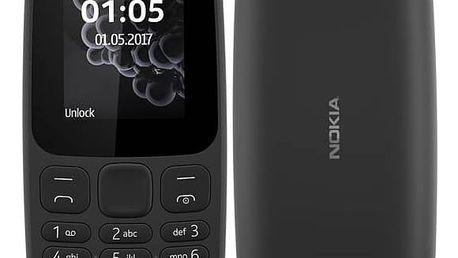 Nokia 105 Dual SIM 2017 (A00028348) černý
