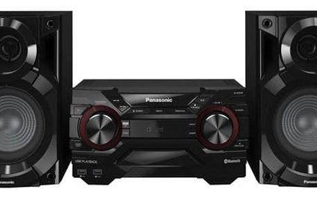 Minisystém Panasonic SC-AKX200E-K černá + dárek Sluchátka Panasonic RP-HF100ME-K černá + DOPRAVA ZDARMA