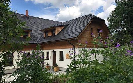 Jarní 3denní pobyt pro dva s polopenzí na Šumavě, v novém penzionu Modrava - Chata u Tří Sluk.