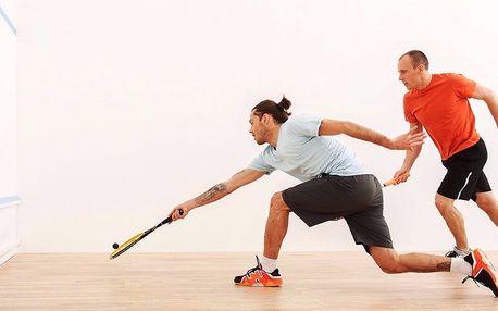 Dejte si do těla: hodina squashe až pro 3 osoby