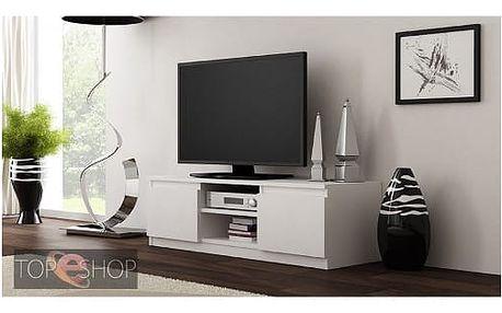 TV stolek LCD 120 cm bílá
