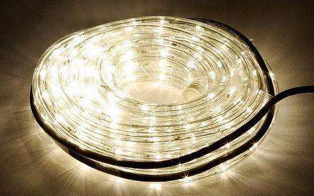 Nexos 810 LED světelný kabel 10 m - teple bílá, 240 diod