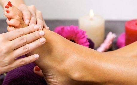 Reflexní masáž plosek nohou: 45 nebo 60 minut