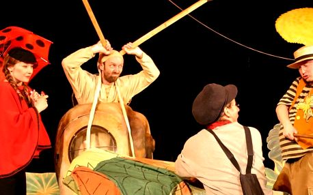 Vstupenka na představení Příhody Ferdy Mravence