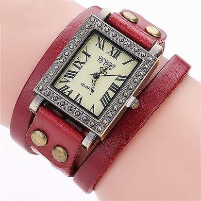 Dámské vintage hodinky - 8 barev