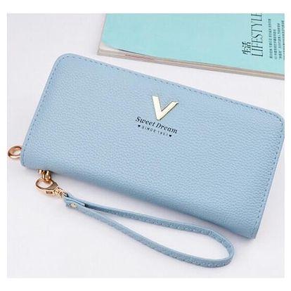 Dámská prostorná peněženka Linda - 4 barvy