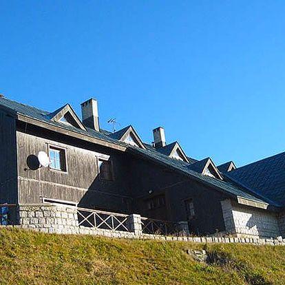 3–6denní pobyt pro 2 i rodinu se saunou v chatě Malá Rennerovka v Krkonoších