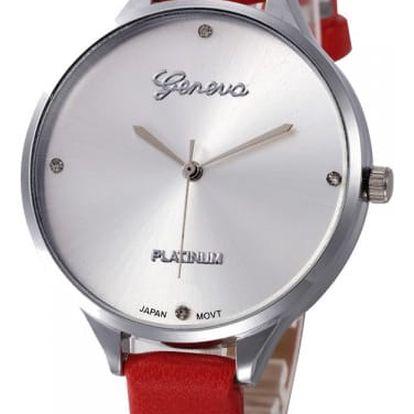 Dámské hodinky v ležérním stylu - 10 barev