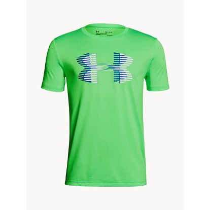 Tričko Under Armour Tech Big Logo Solid Tee Zelená