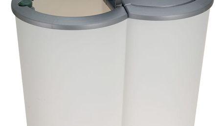 Dvojitý odpadkový koš - 2 x 25 l Emako