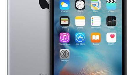 Mobilní telefon Apple iPhone 6s Plus 128GB - Space Gray + dárek (MKUD2CN/A)
