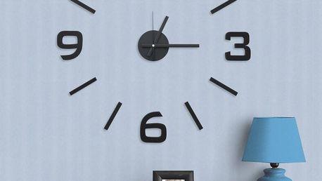 G21 Classic Style Samolepící hodiny