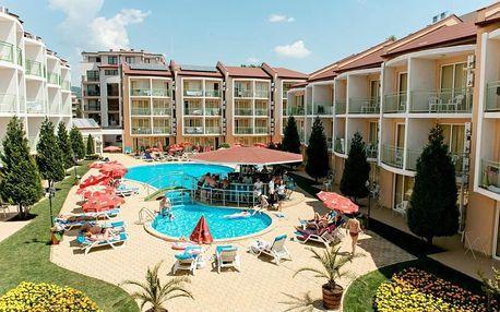 Bulharsko - Slunečné Pobřeží na 6 až 7 dní, all inclusive nebo polopenze s dopravou letecky z Prahy