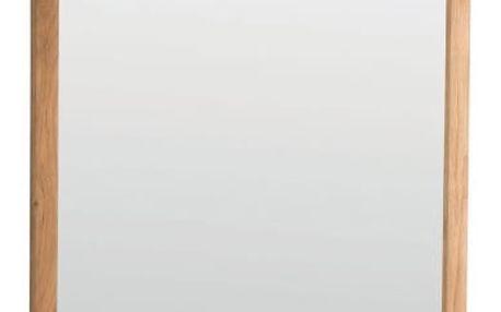 Přírodní dubové zrcadlo Folke Gefjun
