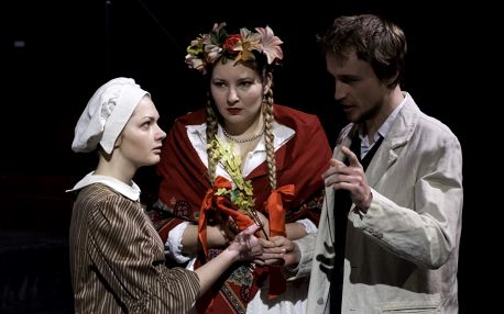 Vstupenka na divadelní představení Černé jezero