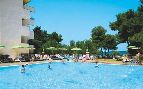 Donat - oblíbený all inclusive hotel v prázdninovém areálu Borik u Zadaru