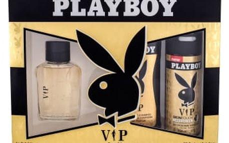 Playboy VIP For Him dárková kazeta pro muže toaletní voda 60 ml + sprchový gel 250 ml + deodorant 150 ml
