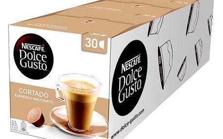 Set (3x Kapsle pro espressa Nescafé Dolce Gusto Cortado 30 ks)