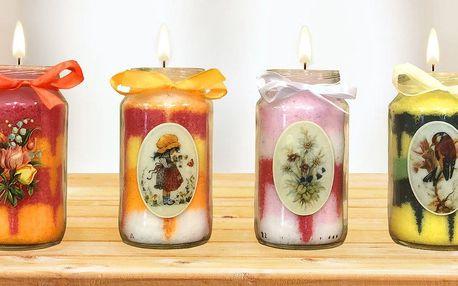 Zábavné vyrábění svíček a koupelové soli