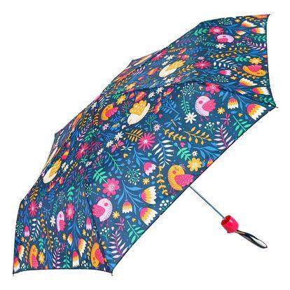 Dětský skládací deštník Colorful Flower Print