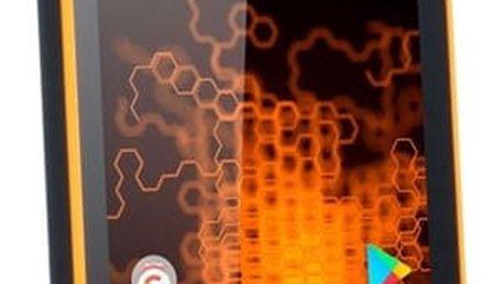 Mobilní telefon myPhone HAMMER ACTIVE Dual SIM oranžový + dárek (TELMYAHACTIVEOR)