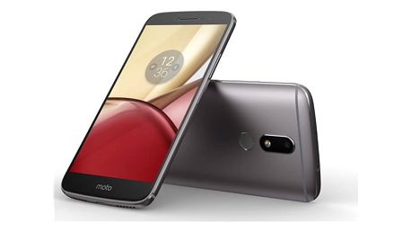 Mobilní telefon Motorola Moto M Dual SIM šedý + dárek (PA5D0076CZ)