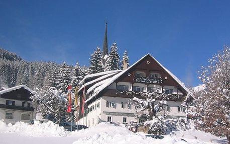 Rakousko - Dachstein West na 5 dní, polopenze s dopravou vlastní