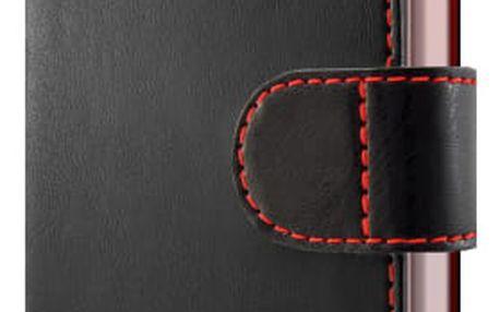 Pouzdro na mobil flipové FIXED FIT pro Honor 9 černé (FIXFIT-215-BK)