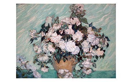 Obraz Vincenta van Gogha - Rosas Washington, 60x45 cm
