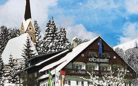 Rakousko - Dachstein West na 5 až 6 dní, polopenze s dopravou vlastní