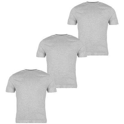 Sada 3 značkových triček DONNAY šedé