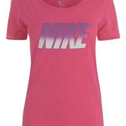 Dámské tričko NIKE Block ružové