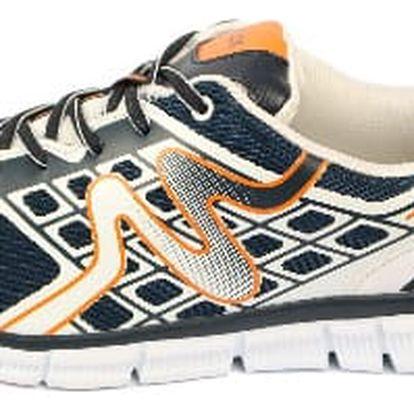 Pánské sportovní boty SMALUX šedé/oranžové