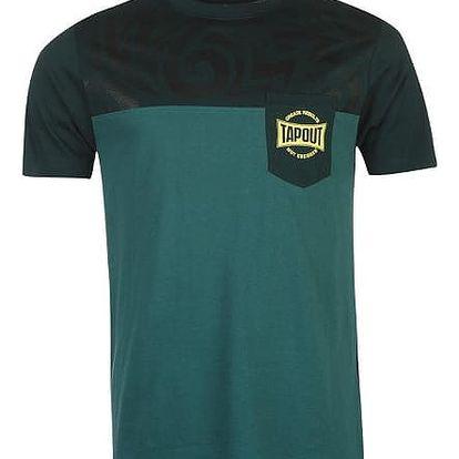 Pánské tričko Tapout petrolejové