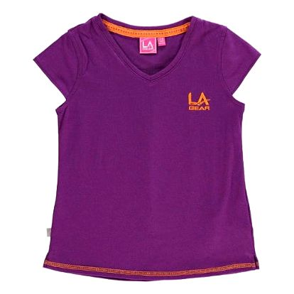 Dětské tričko LA Gear fialové