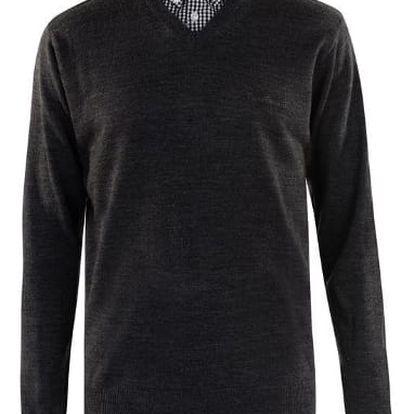 Pánský svetr Pierre Cardin šedý