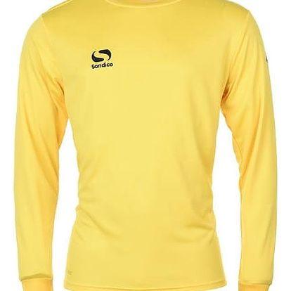 Pánské sportovní tričko s dlouhým rukávem Sondico žluté
