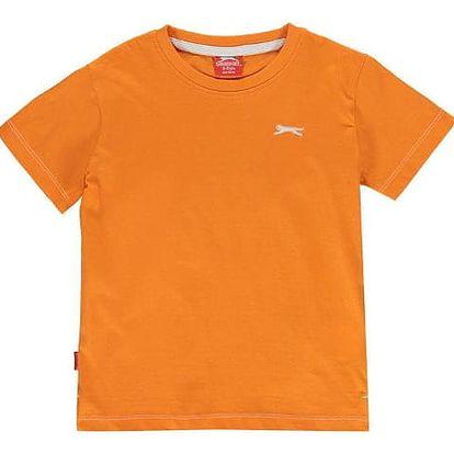 Značkové dětské tričko Slazenger oranžové