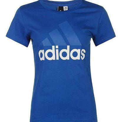 Dámské tričko ADIDAS Linear modré