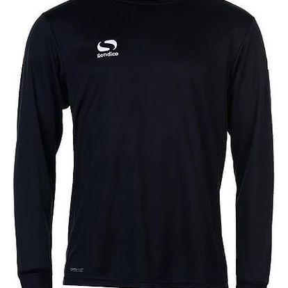 Pánské sportovní tričko s dlouhým rukávem Sondico černé
