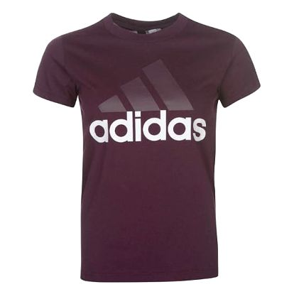 Dámské tričko ADIDAS Linear fialové