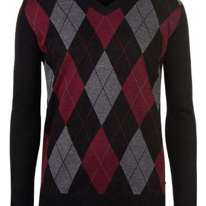 Pánský svetr Pierre Cardin Argyle vzor. 1