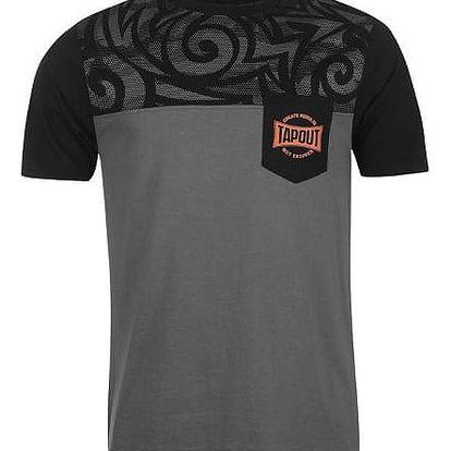 Pánské tričko Tapout šedé