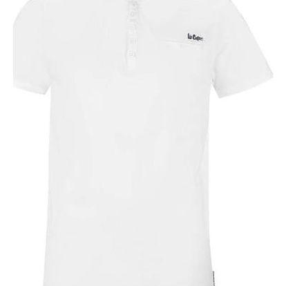 Pánské tričko Lee Cooper Essential bílé