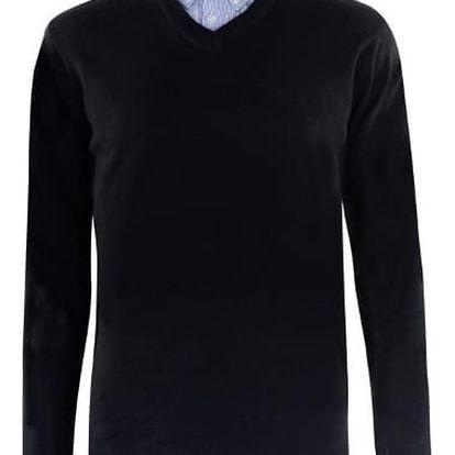 Pánský svetr Pierre Cardin tmavě modrý